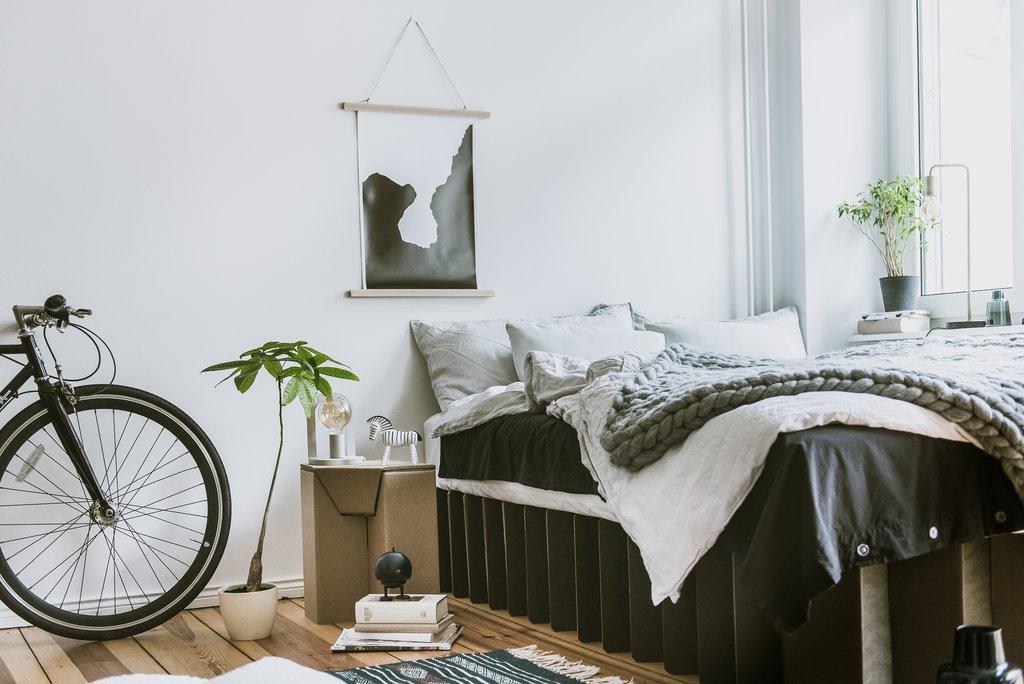 Nachhaltige & günstige Möbel aus Pappe - Room in a Box – zeitgeistich